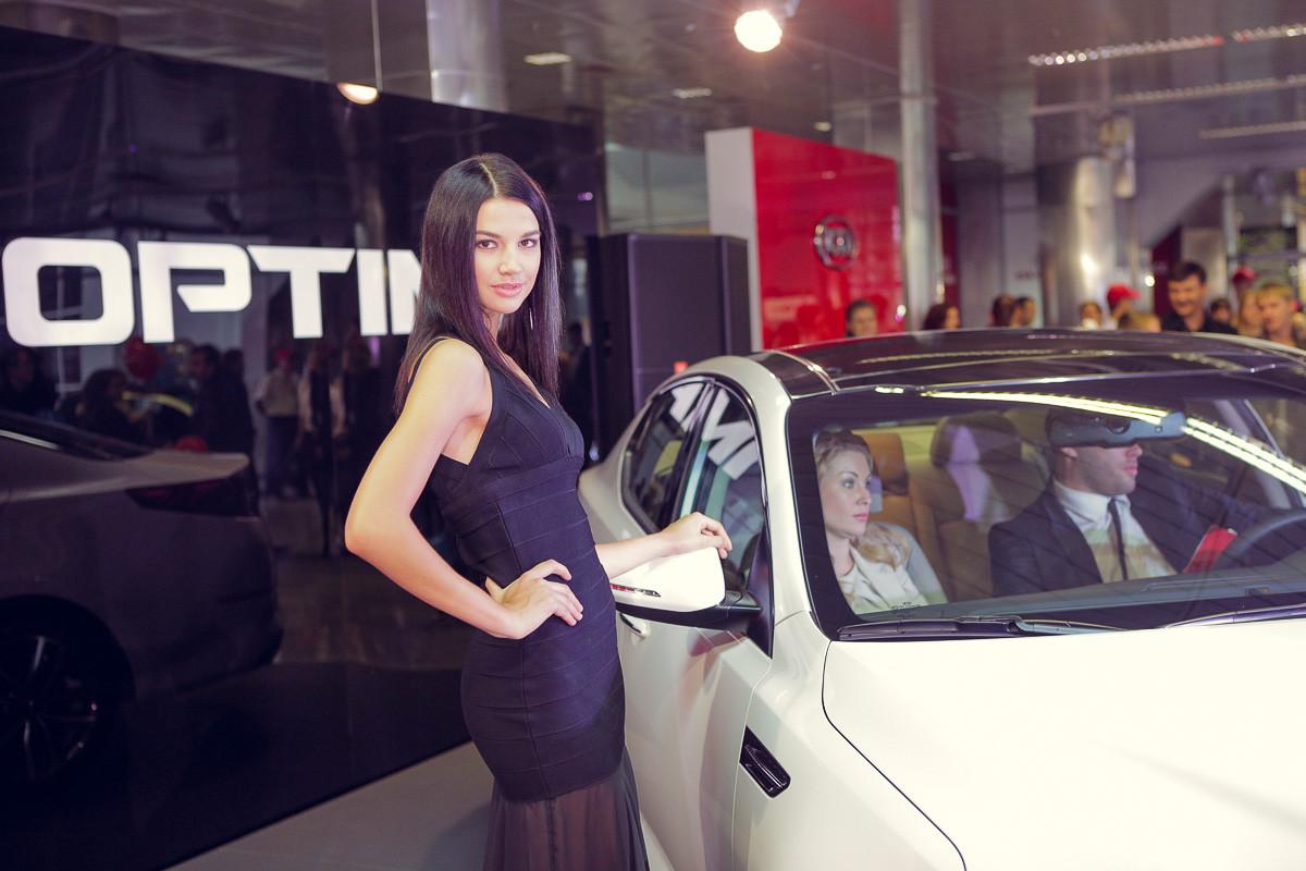 Kia привезла в Украину обновлённую «Оптиму»