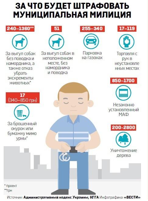 В Киеве может выйти городская полиция