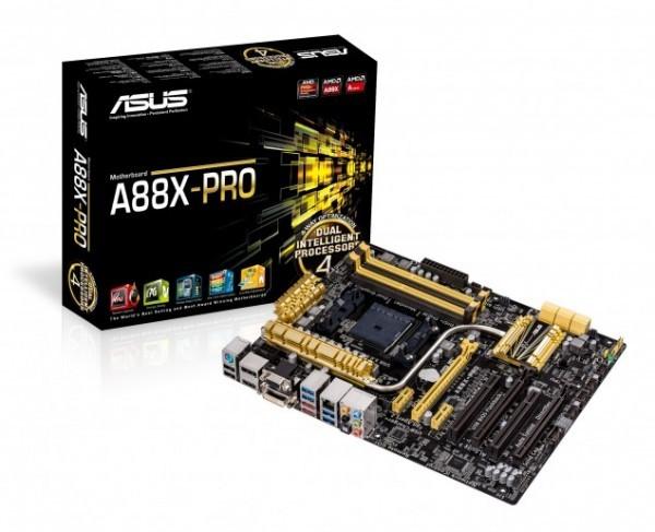 ASUS продемонстрировала материнки AMD A88X для ускорителей Kaveri