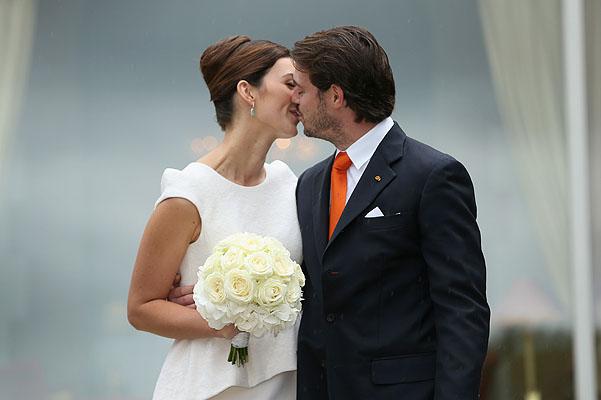 Король Люксембурга Феликс женился на давнишней подруге (ФОТО)