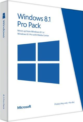 Озвучены расценки на ОС Виндоус 8.1/8.1 Pro