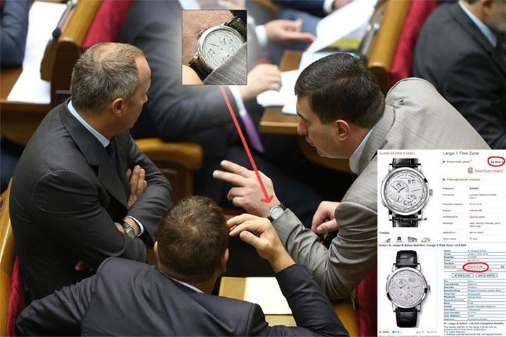 Фотограф снял на руке Маркова часы за $60 млн. (ФОТО)