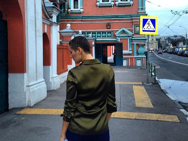Маша Кожевникова осталась без волос для съемок (ФОТО)