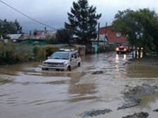 В Броварах потопило дворы частного сектора