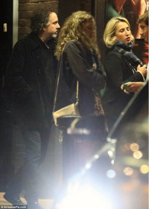 Тима Бертона обвинили в измене жене (ФОТО)