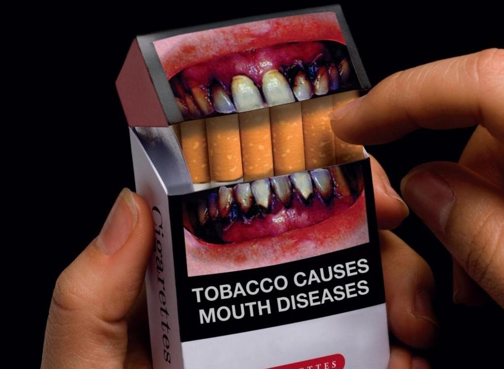 """На сигаретных пачках будут свежие """"зловещие"""" картинки"""