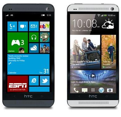 HTC установит Виндоус Phone на Android-смартфонах