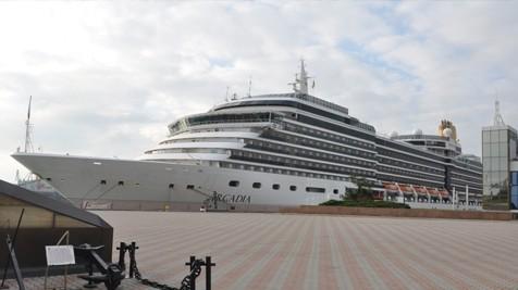 Одесский шлюз утвердил роскошный корабль «Аркадия»