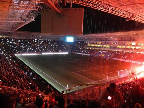 За отключение электроэнергии на стадионе Днепру угрожает денежный штраф