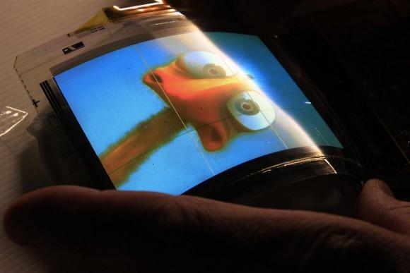 Общее изготовление гибких экранов для телефонов «ЭлДжи»