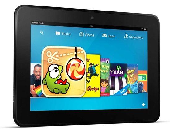 Растут объёмы производства микропланшетов Kindle Fire HD