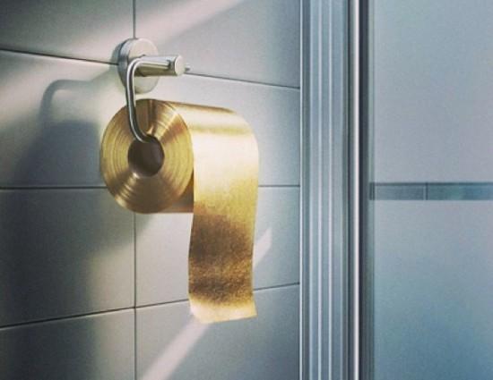 Милая туалетная бумага за млн долларов США