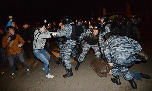 Многочисленные массовые волнения в Бирюлеве (ФОТО)