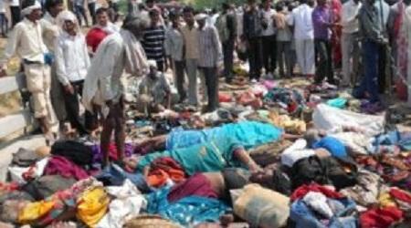 Толкотня в индусском соборе: количество потерпевших превзошло 110 человек