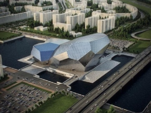 Кинотеатр песни Пугачевой возведут в Киеве над Днепром