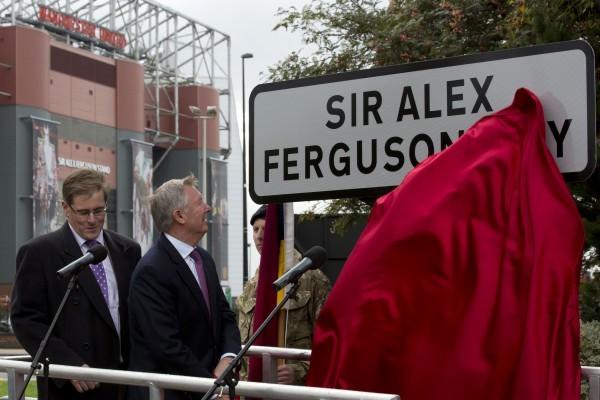 В честь Алекса Фергюсона представлена улица