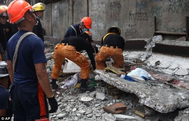 На Филиппинах от землетрясения умерло 69 человек (ФОТО)