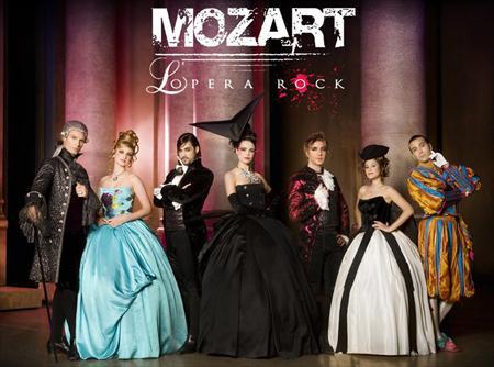 Послезавтра в Киеве пройдет рок-опера Моцарт
