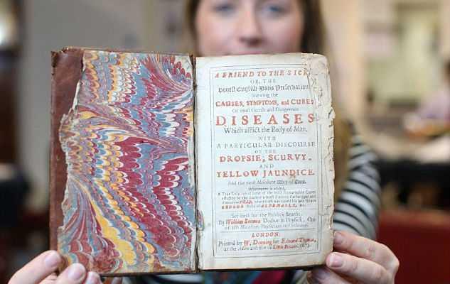 Обнаружили книжку с рецептами собственного доктора короля Великобритании Карла II
