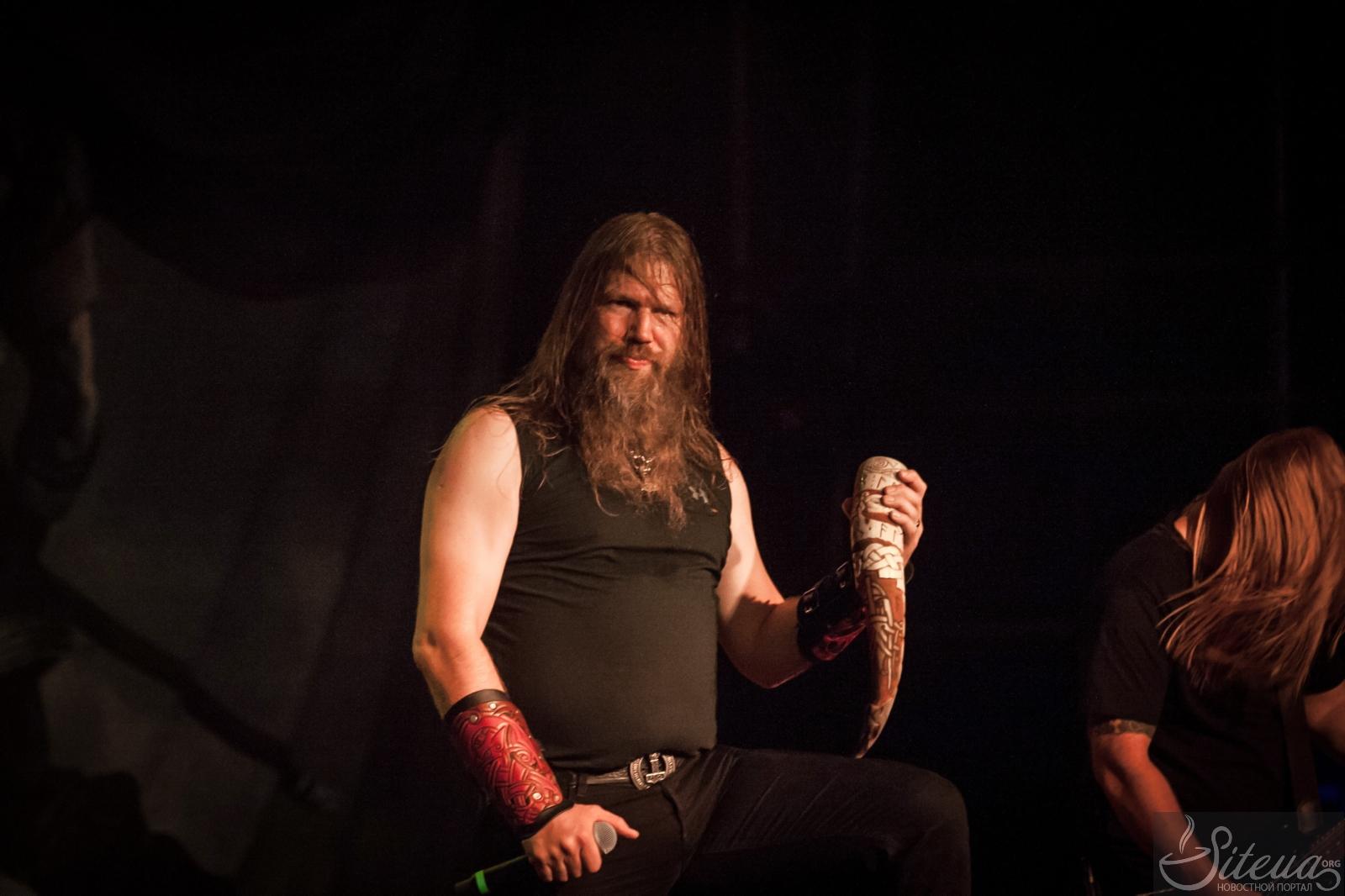 Фееричное возвращение Amon Amarth на Украину: доклад + фото