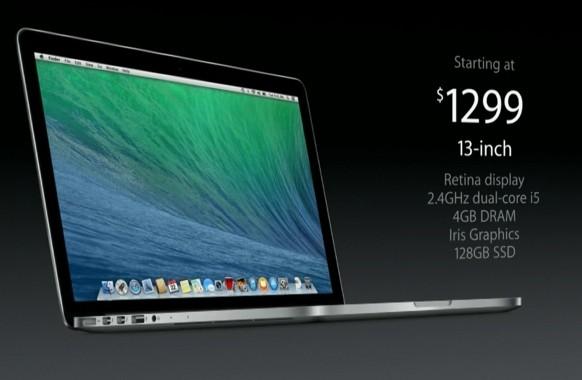 Компьютеры Эпл MacBook Pro с чипсетом Intel Haswell