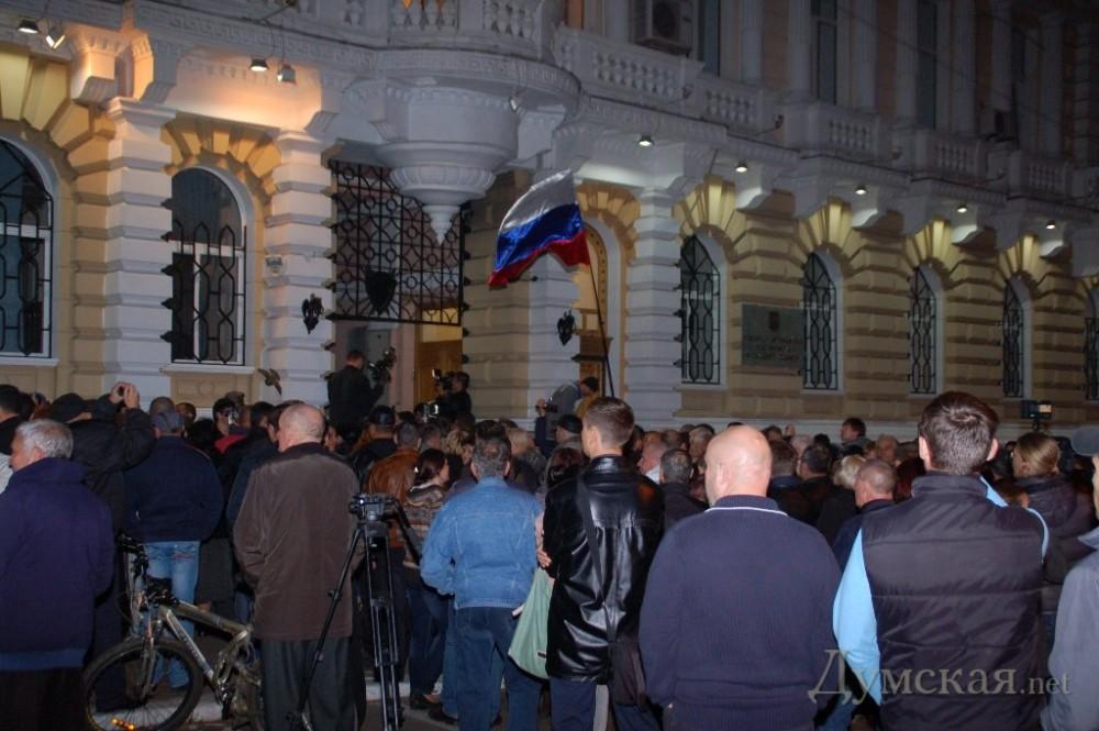 Сторонники Маркова штурмовали управление милиции (ВИДЕО)