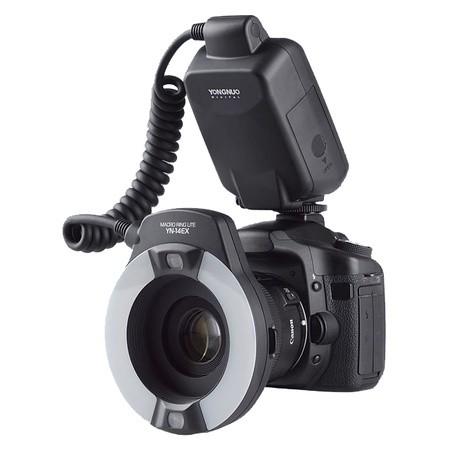 Круговая вспышка YongNuo YN-14EX для Canon