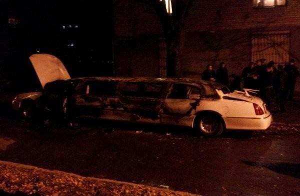 В Харькове правонарушители подорвали лимузин (ФОТО)