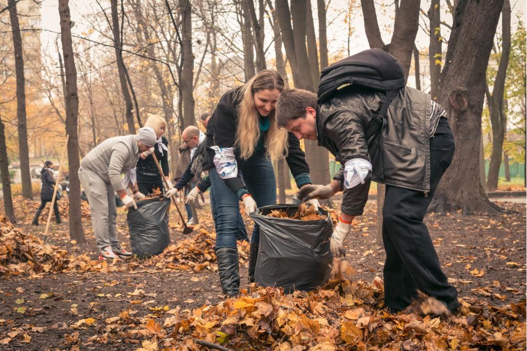 На выходных украинцы выйдут на мировой субботник