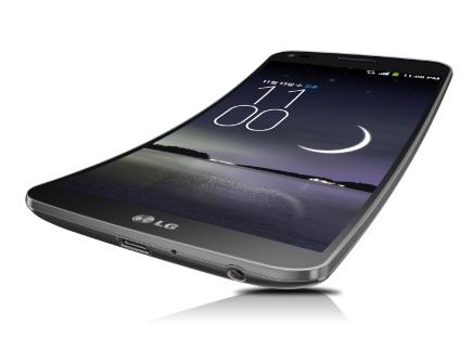 LG G Flex: изогнутый смартфон, который повторяет контур лица