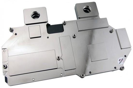 Низкопрофильный водоблок для Radeon R9 290X