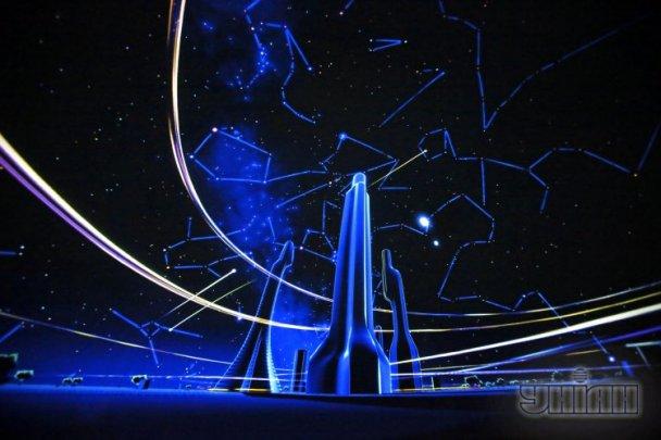 В Киеве раскрылся свежий цифровой круглый планетарий. ФОТО