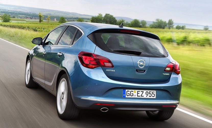 Opel Astra нового поколения появится в 2015 году