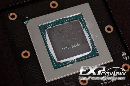 Первые испытания карты памяти GeForce GTX 780 GHz Edition