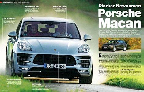 Рассекречен Porsche Macan