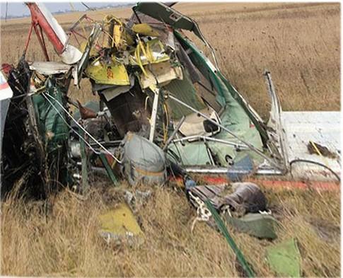 На Ровенщине погиб самолет