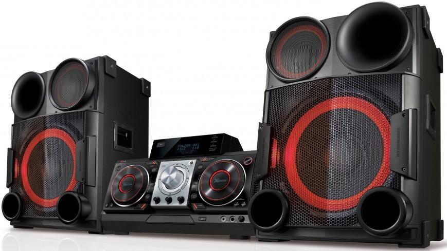 Мощная минисистема LG X-Boom CM9730