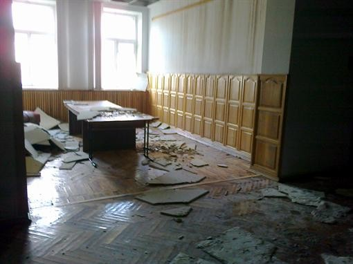 Сельскохозяйственный институт восстанавливается после пожара