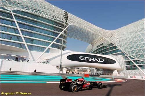 Вторая часть свободных заездов Гран При Абу-Даби