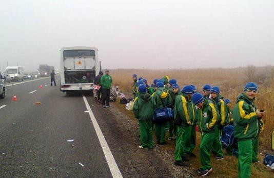 В ДТП на Ставрополье были убиты трое украинцев и 1 житель России