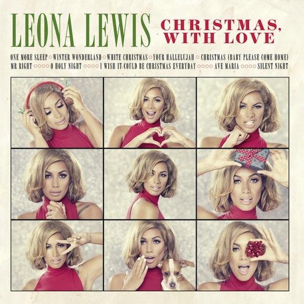 Леона Льюис опубликовала обложку новогоднего альбома
