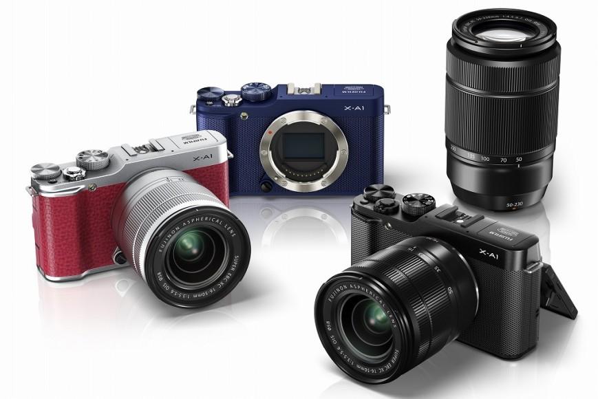 Беззеркалка Fujifilm X-A1 уже в России