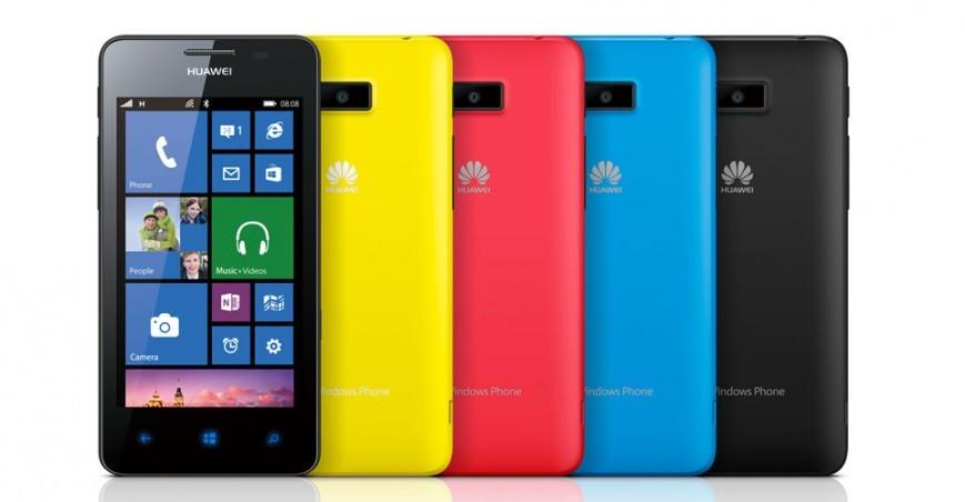 Телефон Huawei Ascend W2  в РФ