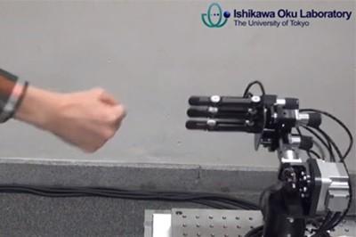 Робот, которого невозможно обыграть в камень-ножницы-бумага