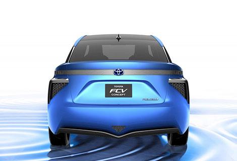 Тойота выпустит водородную модель
