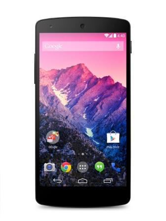 LG и Google закончили совместную работу над Google Nexus 5