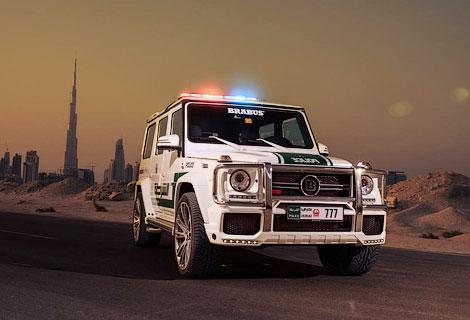 Mercedes-Benz G 63 AMG: Полицейский внедорожник для арабов