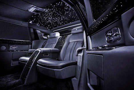 Rolls-Royce украсил Celestial Phantom бриллиантами