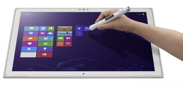 Гигантский 20-дюймовый планшет Panasonic Toughpad UT-MB5