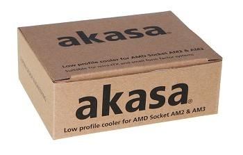 Низкопрофильный кулер - Akasa AK-CC1101EP02